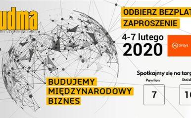 Spotkajmy się na targach BUDMA 2020. Odbierz bezpłatny bilet wstępu!