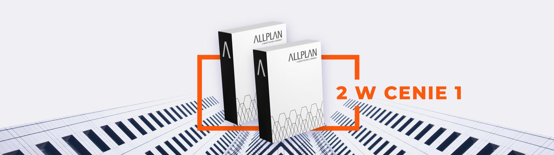Promocja: Kup dowolną licencję wieczystą Allplan i zyskaj gratis  licencję roczną Allplan Basic!